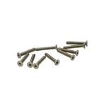 M2.5x16mm Flat Head Screw (10pcs)