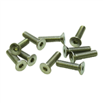 M3x12mm Flat Head Screw (10pcs)