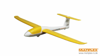 Multiplex Mini Solius kastefly Yellow/white