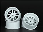 OOSpeed 10spoke rims 6mm-offset 4pcs White