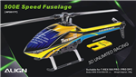 HF5017T 500E Speed Fuselage Yellow & Blue