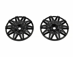 SJM Wheel Disc Rusttere RT1 Black 2pcs