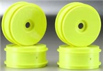 Schumacher Yellow Dish Wheel 1/8 - 4pcs