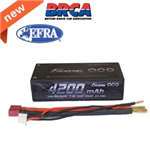 2s  4200mAh - 60C - Gens Ace Shorty Deans ( T )