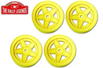 EZRL2063 Lancia Stratos 5-spoke Rim 4pcs 1/10