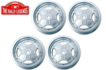 EZRL2068 Fiat 131 Rally Rims 4pcs 1/10