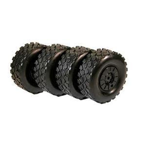 The Rally Legends EZRL2390 Trakker Tire and Wheel Set 4pcs