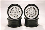 EZRL2407 Fiat Abarth 124 Rally Rim Set 4pcs 1/10