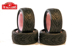 EZRL3006 40R Grip Stradali Tires 4pcs 1/10