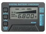 JR Digital Battery Checker BC580
