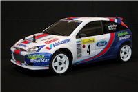 The Rally Legends Ford Focus WRC 2001 RTR