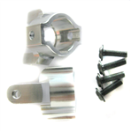 BOP Silver Alu. - AX80012 C Hub Carrier Set