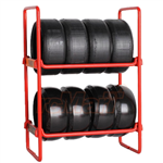 OOSpeed NZO Tire Rack Red