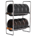 OOSpeed NZO Tire Rack Silver