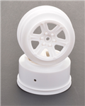 U4732 Short Course Wheel - White +3 offset