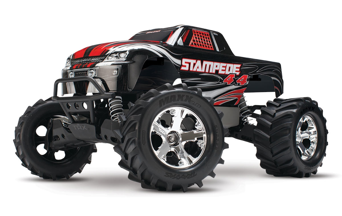 Traxxas Stampede 4X4 12T Brushed WP :: Komplett