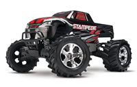 Traxxas Stampede 4X4 Brushed WP :: Komplett Black