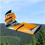 RCF FUN Zorro Wing ARF - Orange