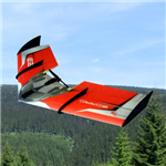 RCF FUN Zorro Wing ARF - Red