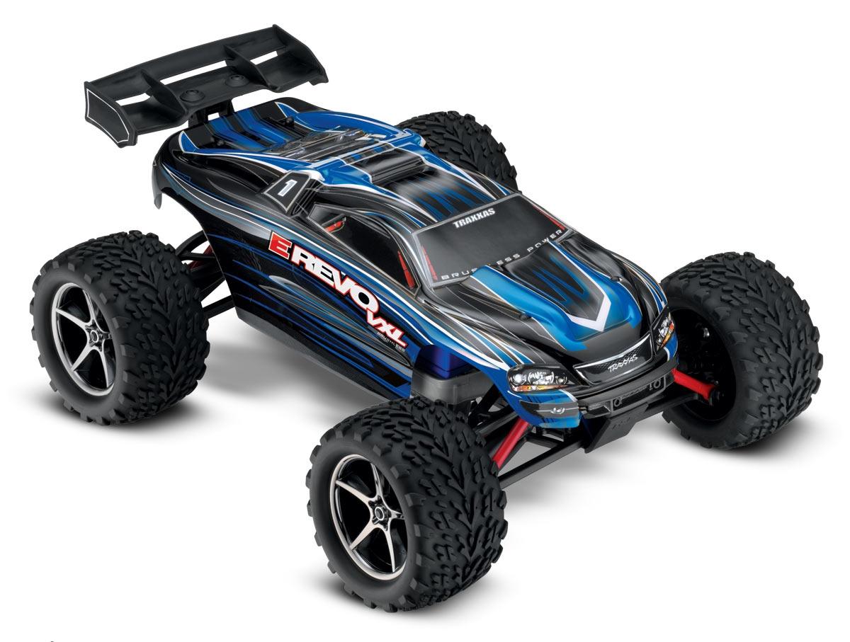 Traxxas E-Revo 1/16 VXL TSM 4WD :: Komplett