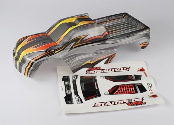 Traxxas TRX-3617R Stampede VXL ProGraphix Custom Body