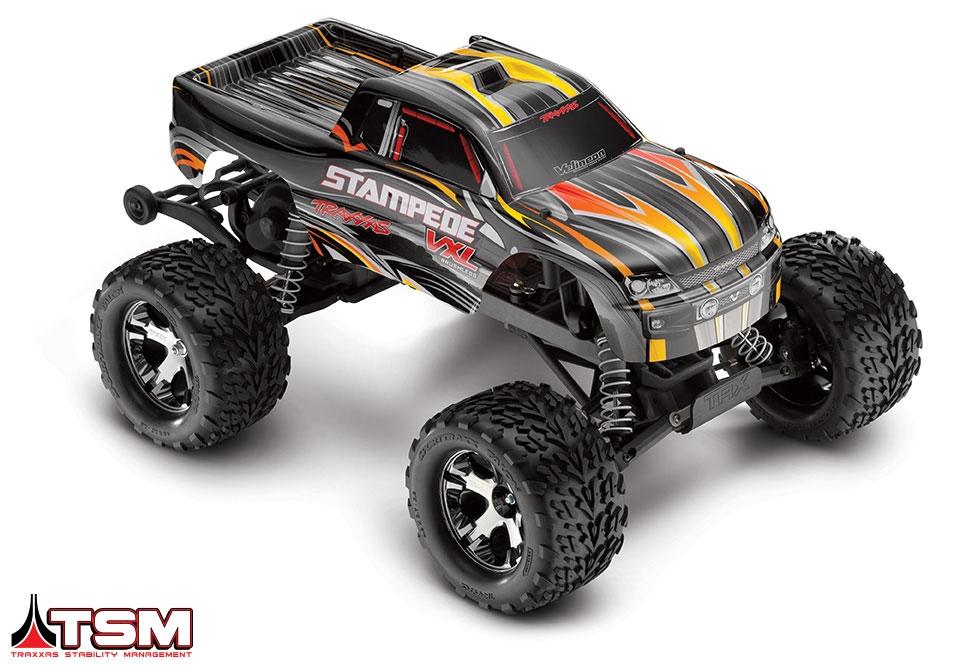 Traxxas Stampede 1/10 2WD VXL TSM :: Komplett
