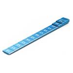 SkyRC Chassis Ride Height Gauge Blue 1.0-4.0mm