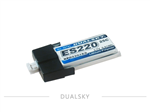 1s   220mAh - 25C - Dualsky for MCPX