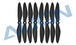 MP06031AT 6040 Propeller - Black 8pcs