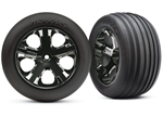 TRX-3771A Alias Ribbed Tires and Wheels