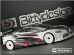 Bittydesign ASCARI Clear Body 1/10 TC 190mm LW
