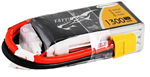 4s  1300mAh - 75C - Gens Ace Tattu XT60 Racing