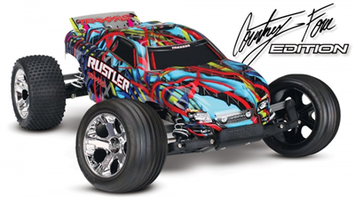 Traxxas Rustler 1/10 Courtney Force / Pink - RTR