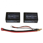 2s  5200mAh - 40C - Gens Ace Saddle Pack m/Deans