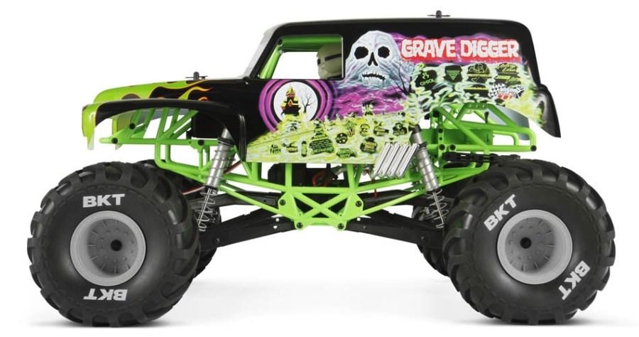 Axial SMT10 Grave Digger - Monster Jam Truck 1:10