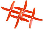Dalprop Quad-Blade Q5040 Orange 2par