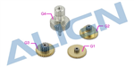 HSP45502T DS455 Servo Gear Set