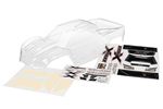 TRX-7711 Body Traxxas X-Maxx clear with decals