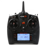 Spektrum DX8 2.4GHz u/Mottaker