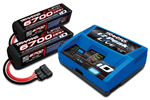 Traxxas Charger iD Live & 2x 4s Battery Combo