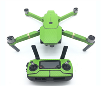 Green Carbon Stickers for DJI Mavic Pro