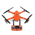 Orange Carbon Stickers for DJI Mavic Pro