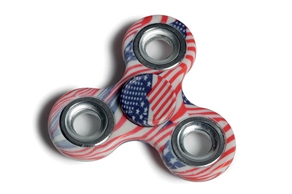 elefun.no Fidget Spinner - American Flag