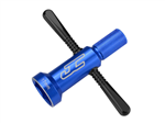 JConcepts 17mm FIN Quick-Spin Wrench - Blue