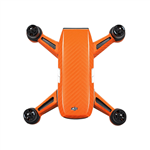 Orange Carbon Stickers for DJI Spark