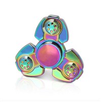 Fidget Spinner - Metal Rainbow Triangle