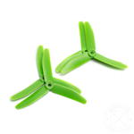 HQ Triple Prop 5X4X3 Green (2CW+2CCW)-Glass Fiber