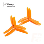 HQ Triple Prop 5X4X3 Orange(2CW+2CCW)-Glass Fiber