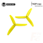 HQ Triple Prop 5X4X3 Rotor Riot Yellow (1CW+1CCW)