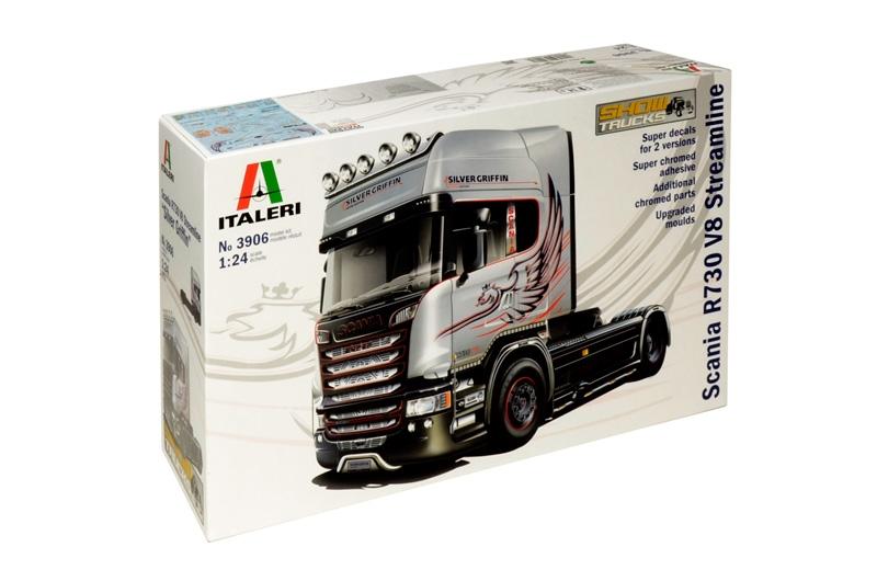 Italeri 1:24 - Scania R730 V8 Streamline